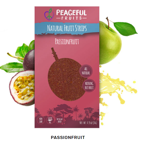 Passionfruit Peaceful Fruit strip