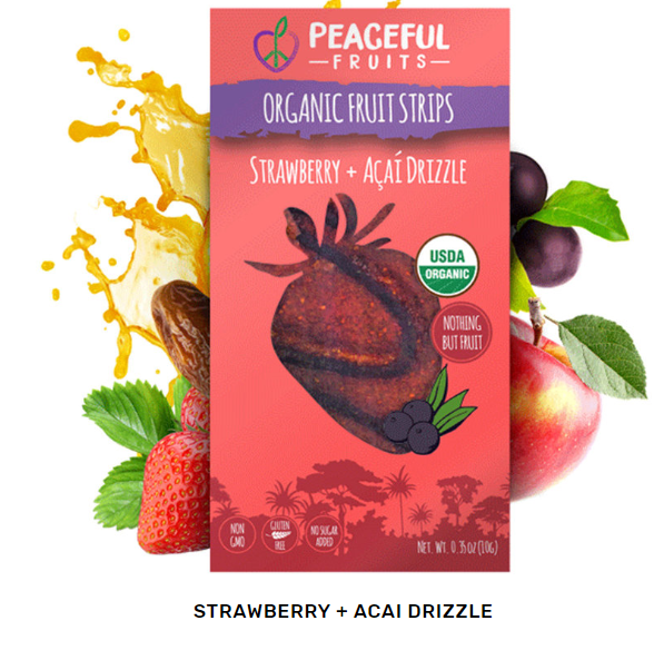 Strawberry Peaceful Fruit strip