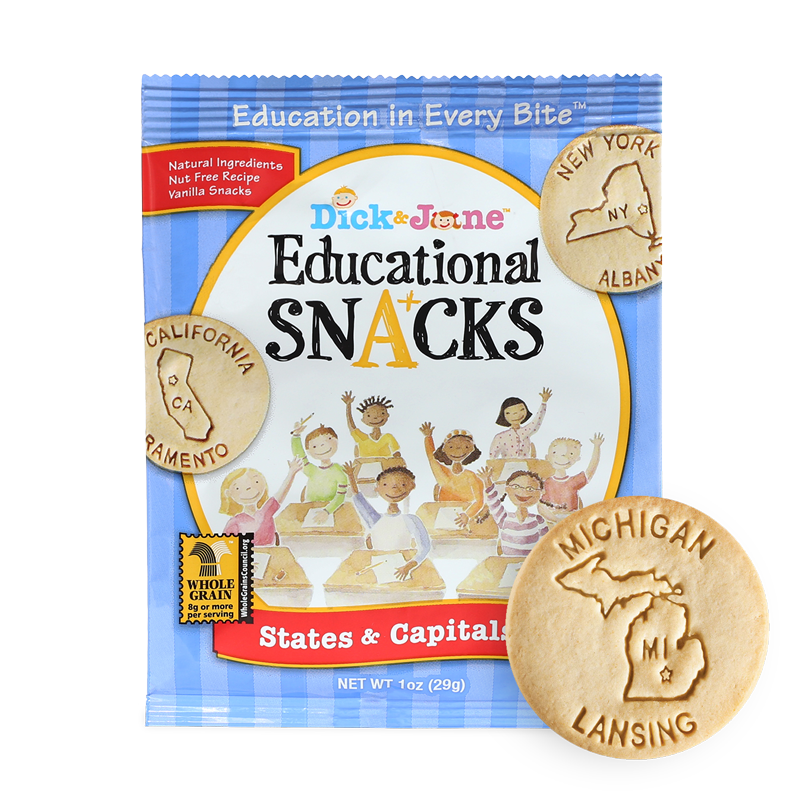 Dick & Jane Educational Snacks