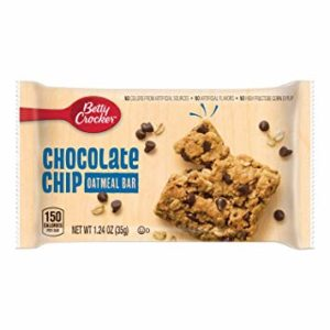 Betty Crocker Chocolate Chip Oatmeal Bar