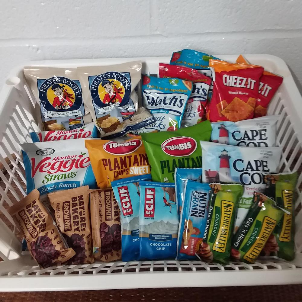 Sweet and Salty Snack Offerings