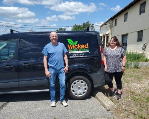Dan and Tricia from Wicked Healthy Vending.